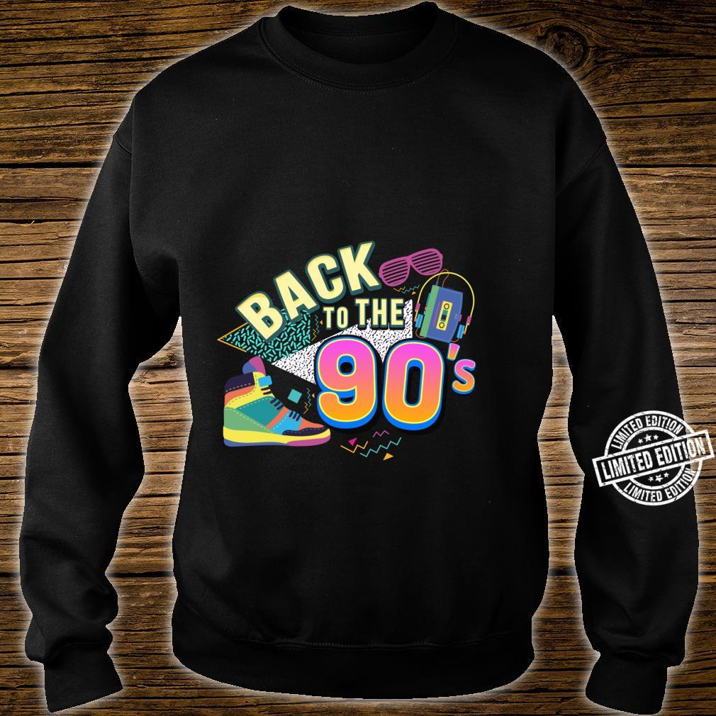 90er Jahre Back to the 90s Oldschool Retro Party Shirt sweater