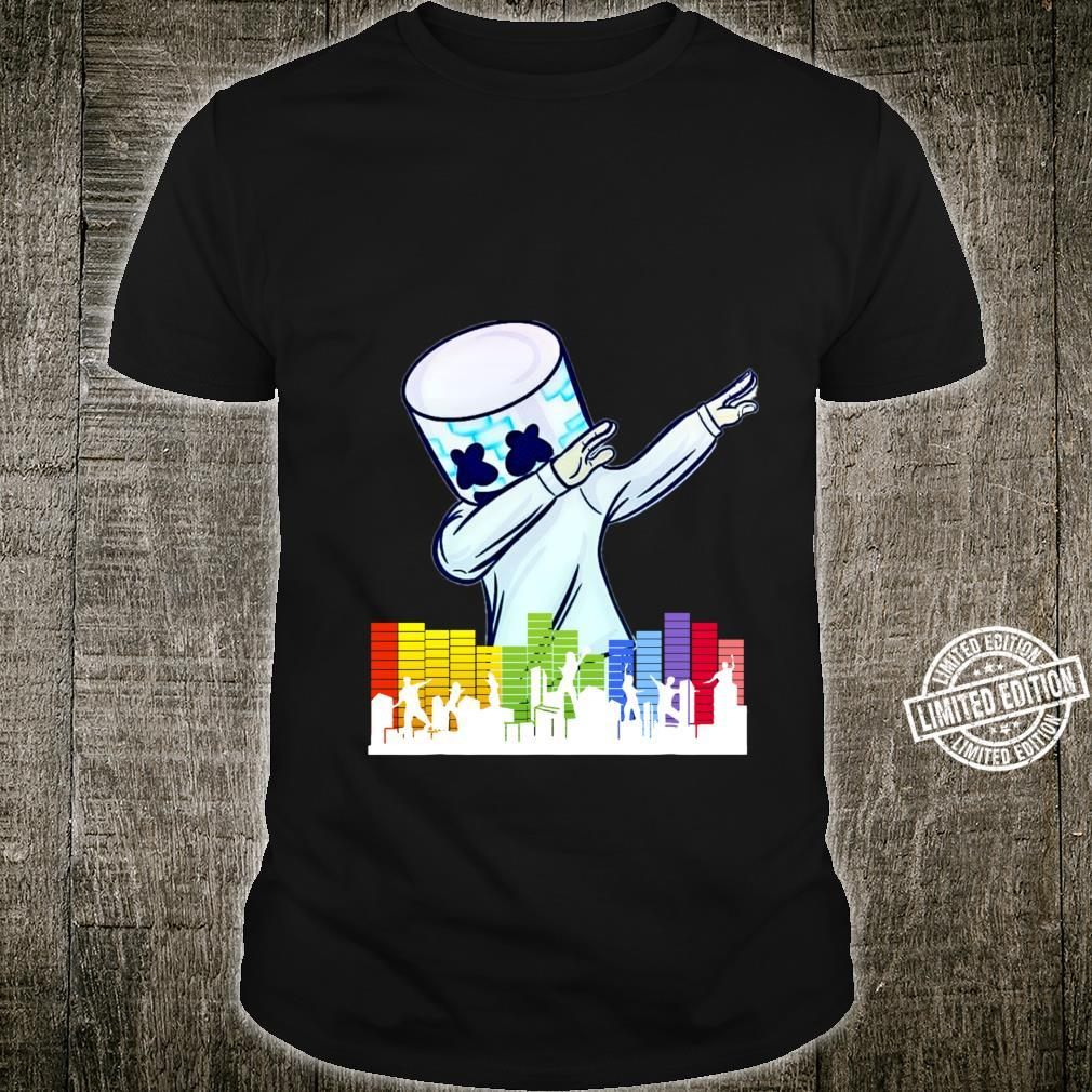 All I Want For Christmas Is Marshmallow Dancing DJ Essential Shirt