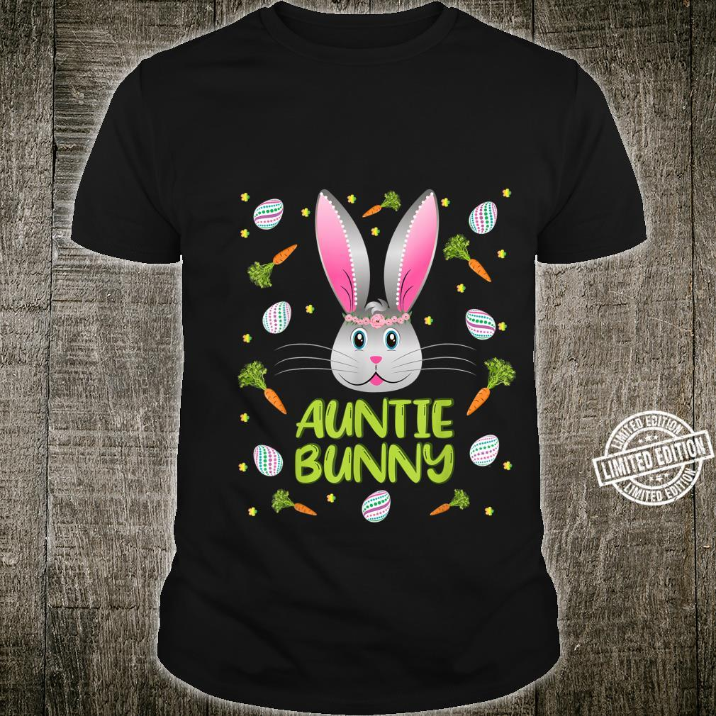 Auntie Bunny Easter Rabbit Family Matching Party Shirt
