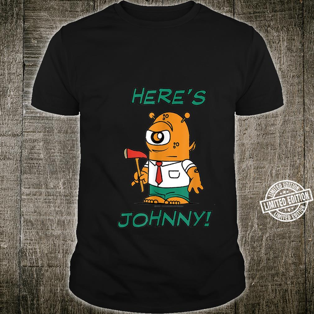 Boots and Pup Here's Johnny Shirt