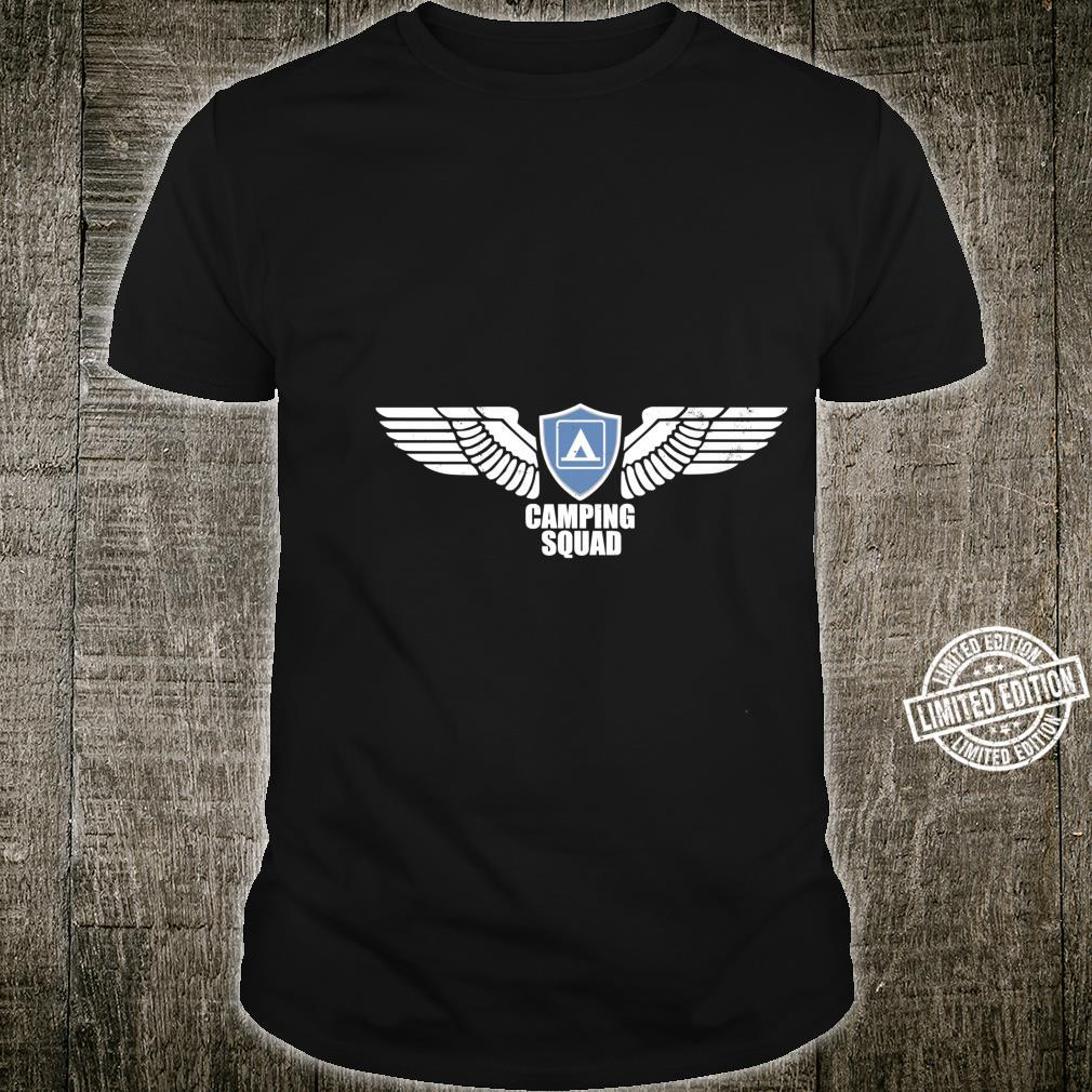 CAMPING SQUAD CAMPING TRUPPE Camper Shirt
