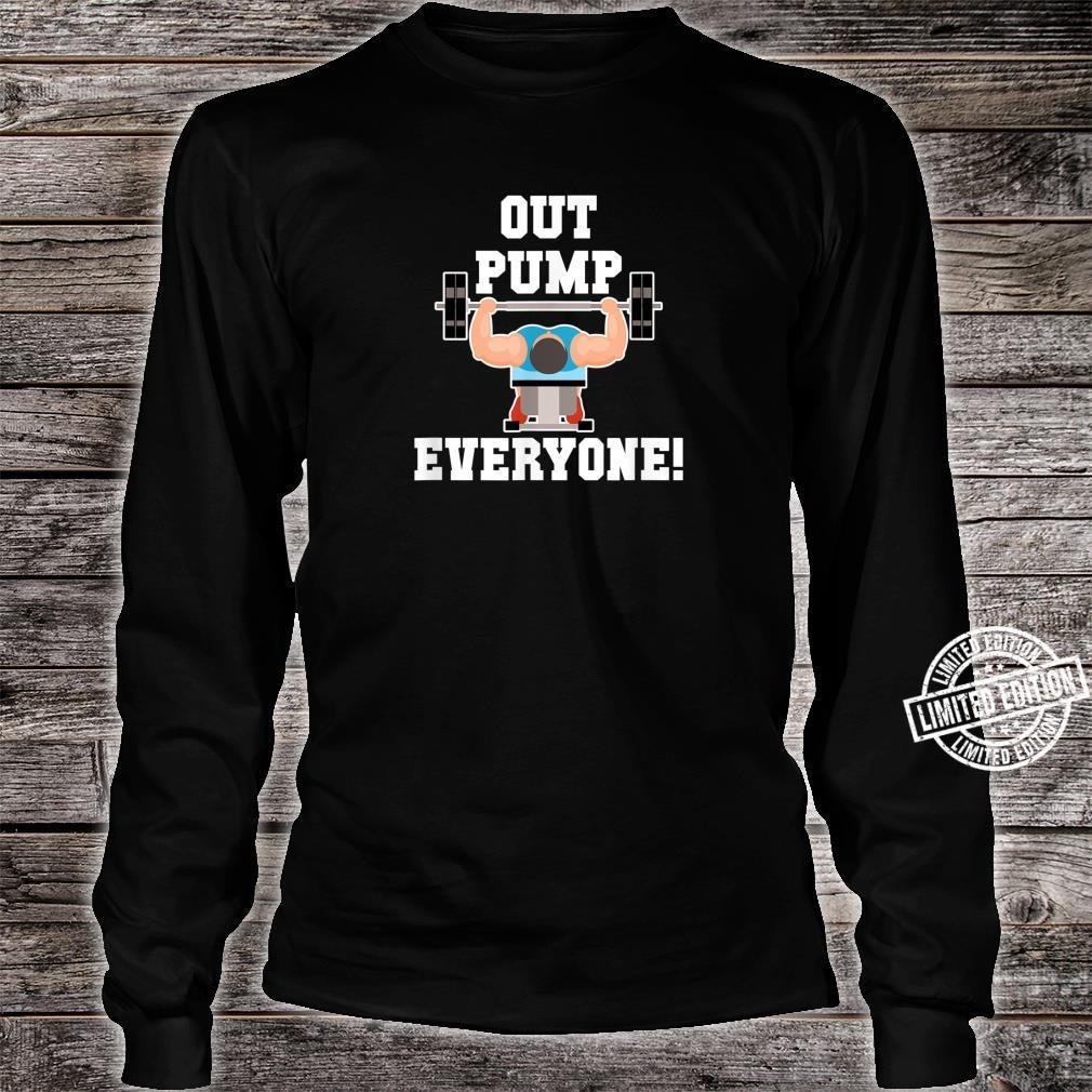Fitness Gym Workout Body For The Brawny Shirt long sleeved