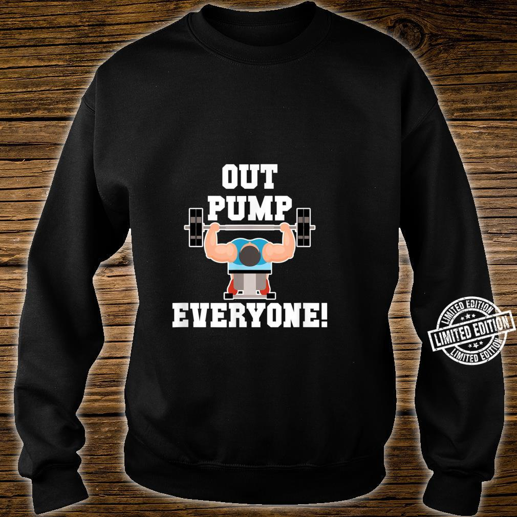 Fitness Gym Workout Body For The Brawny Shirt sweater