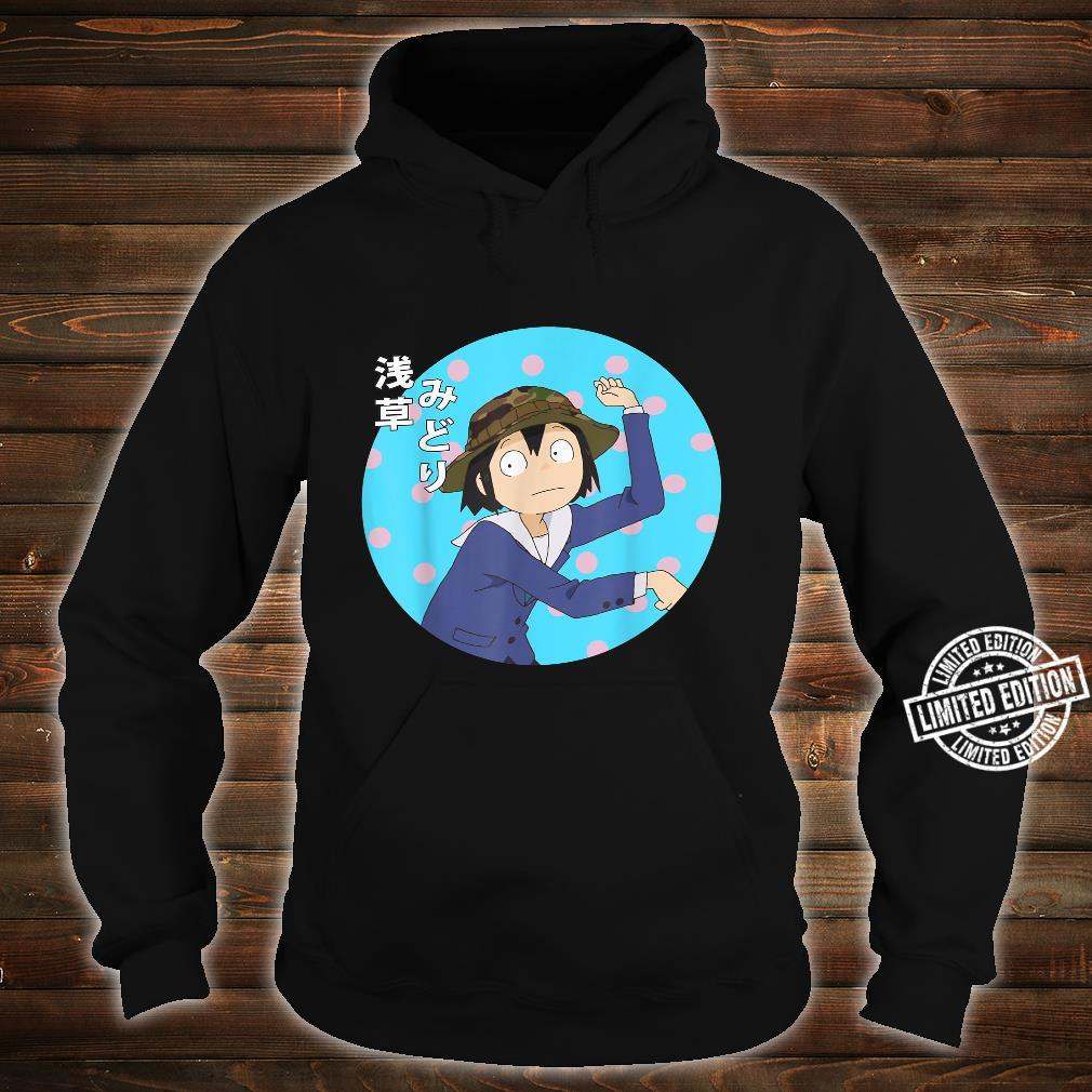 Funny Japanese Anime Series Keep Yours Hands Off Eizoukens Shirt hoodie
