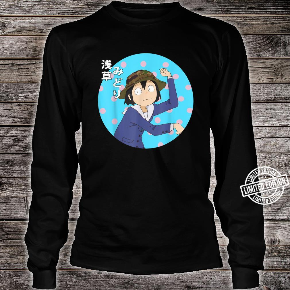 Funny Japanese Anime Series Keep Yours Hands Off Eizoukens Shirt long sleeved