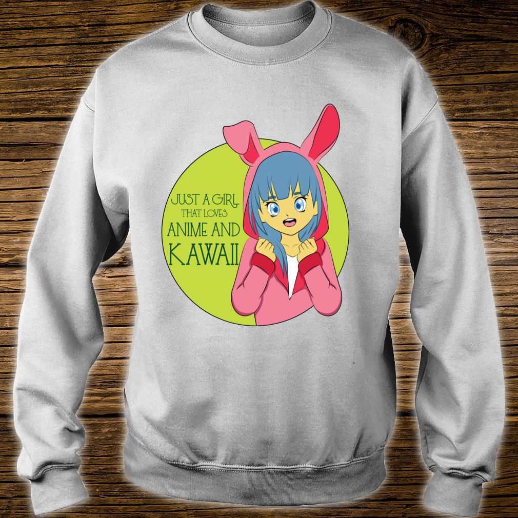 Just A Girl That Loves Anime And Kawaii Cute Japanese Costu Shirt sweater
