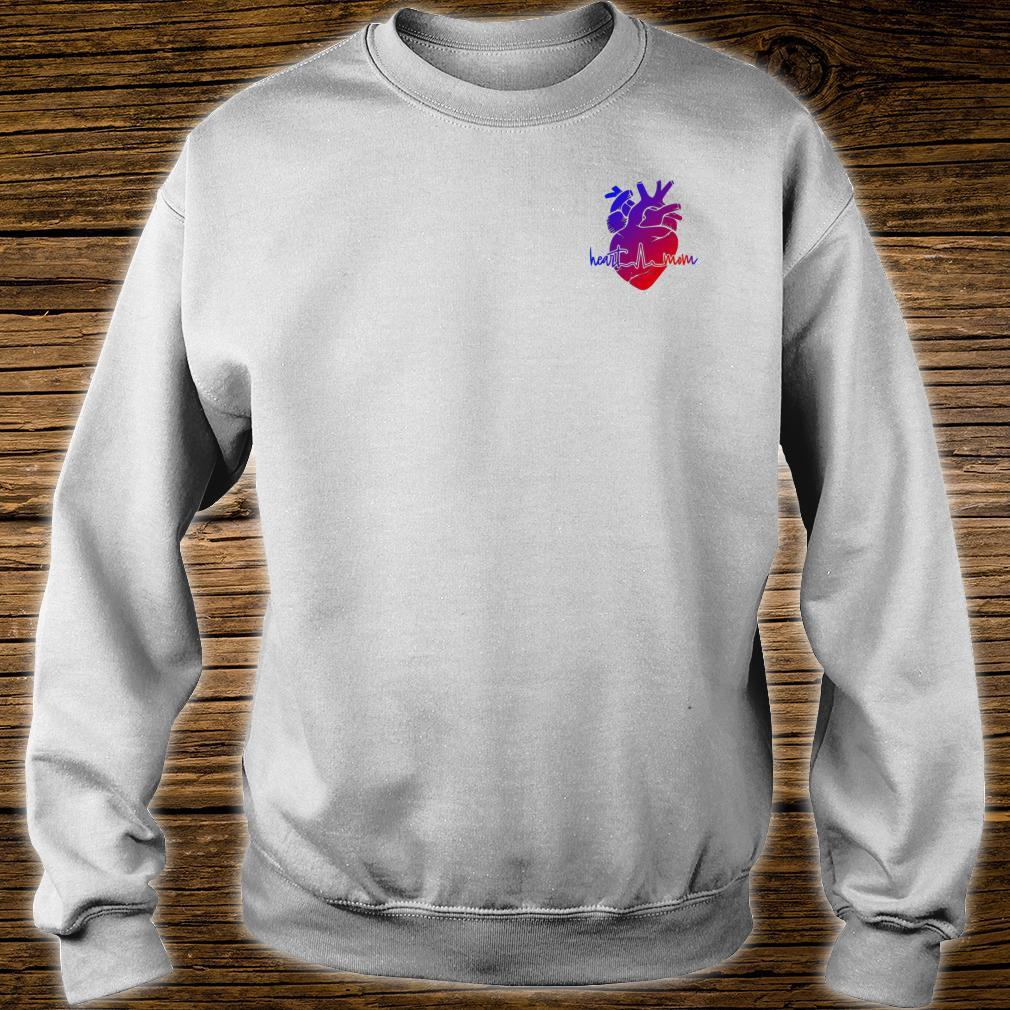 Mothers supporting with CHD Congenital Heart Defects Shirt sweater