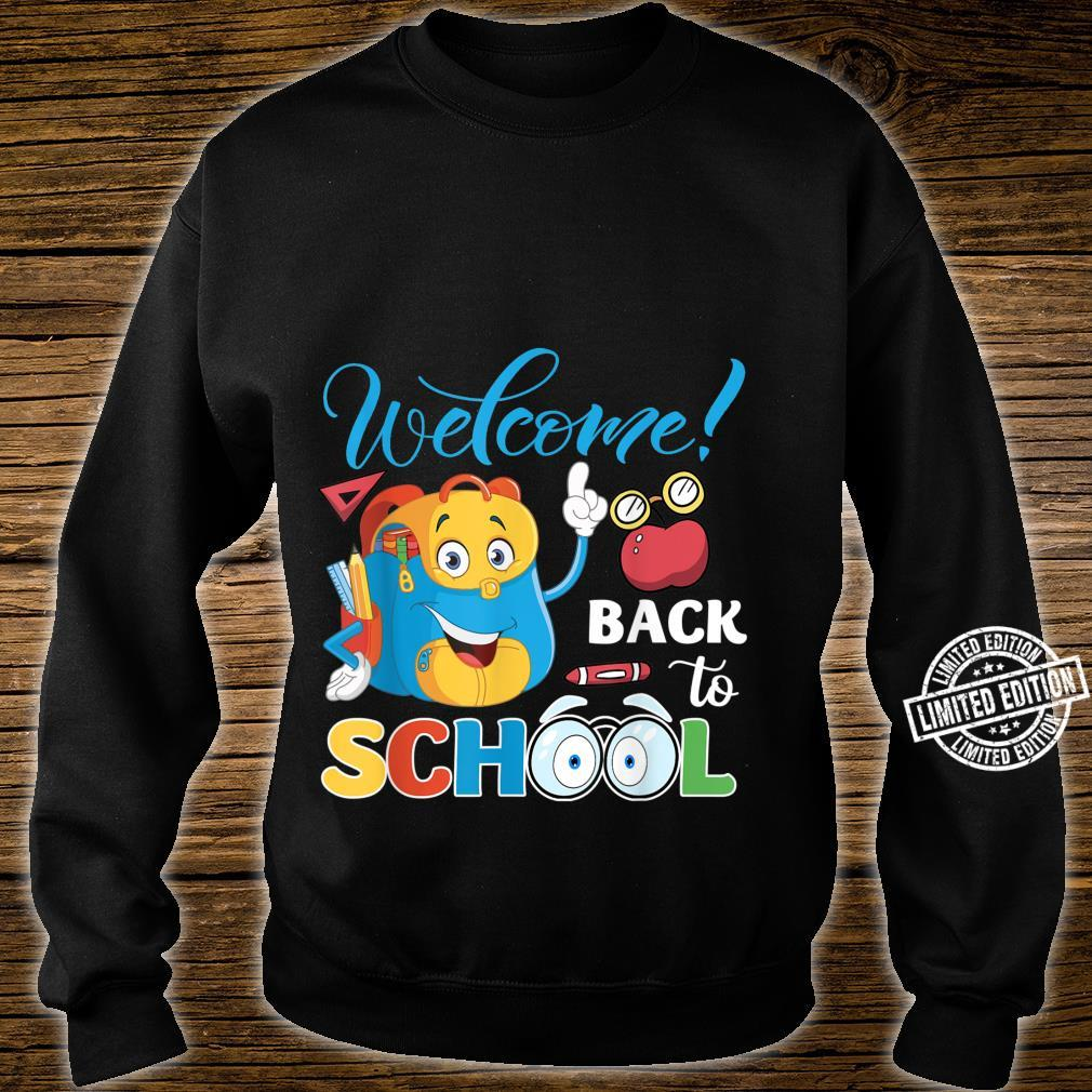Welcome Back To School First Day Of School Teacher Student Shirt sweater