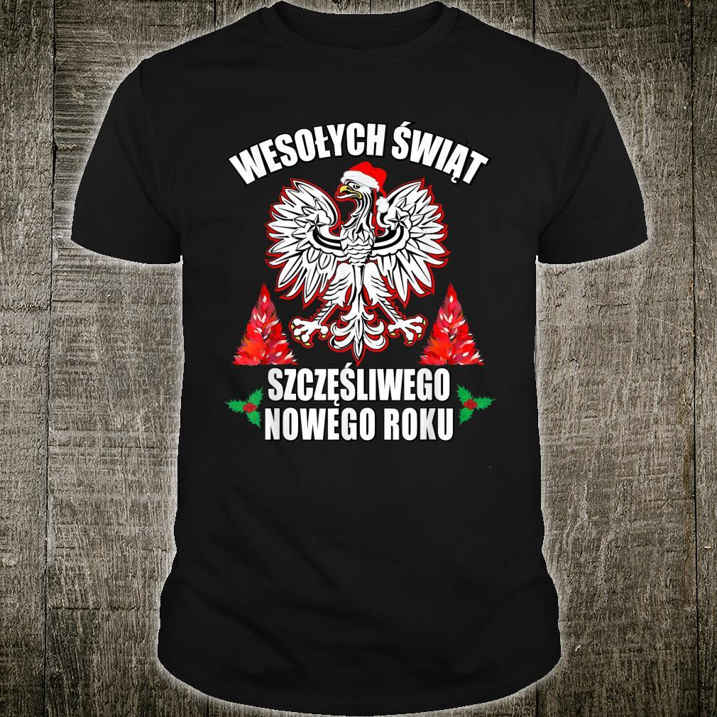 Wesolych Swiat Merry Christmas Happy New Years In Polish Shirt