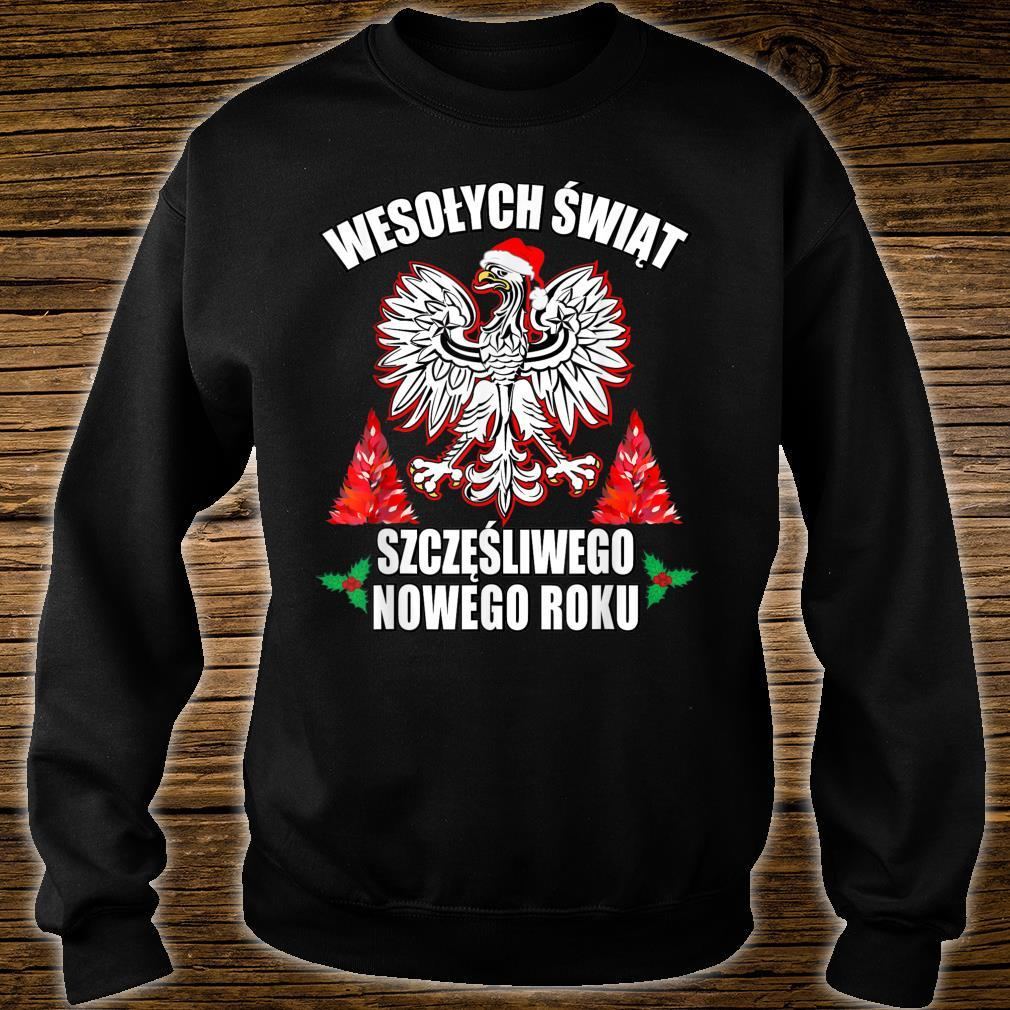 Wesolych Swiat Merry Christmas Happy New Years In Polish Shirt sweater