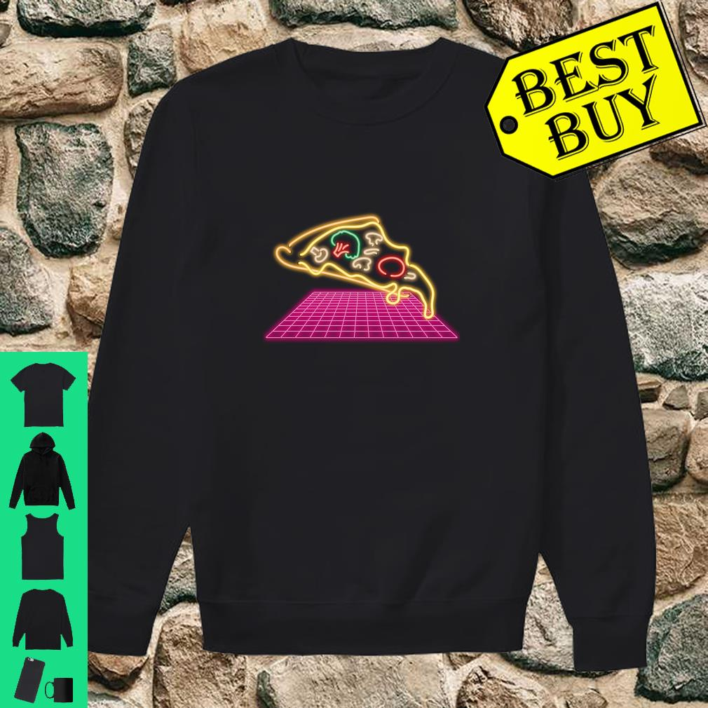 80s Pizza Slice with melting Cheese and Veggies Shirt sweater