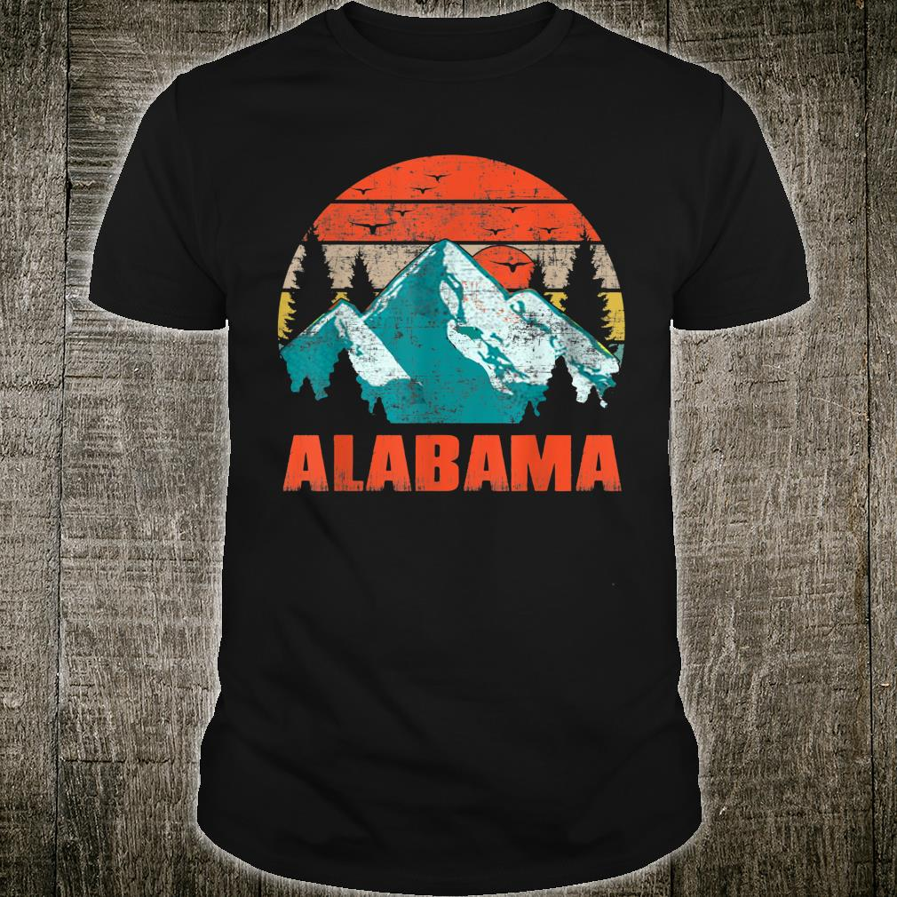 Alabama Retro Vintage Skyline Shirt