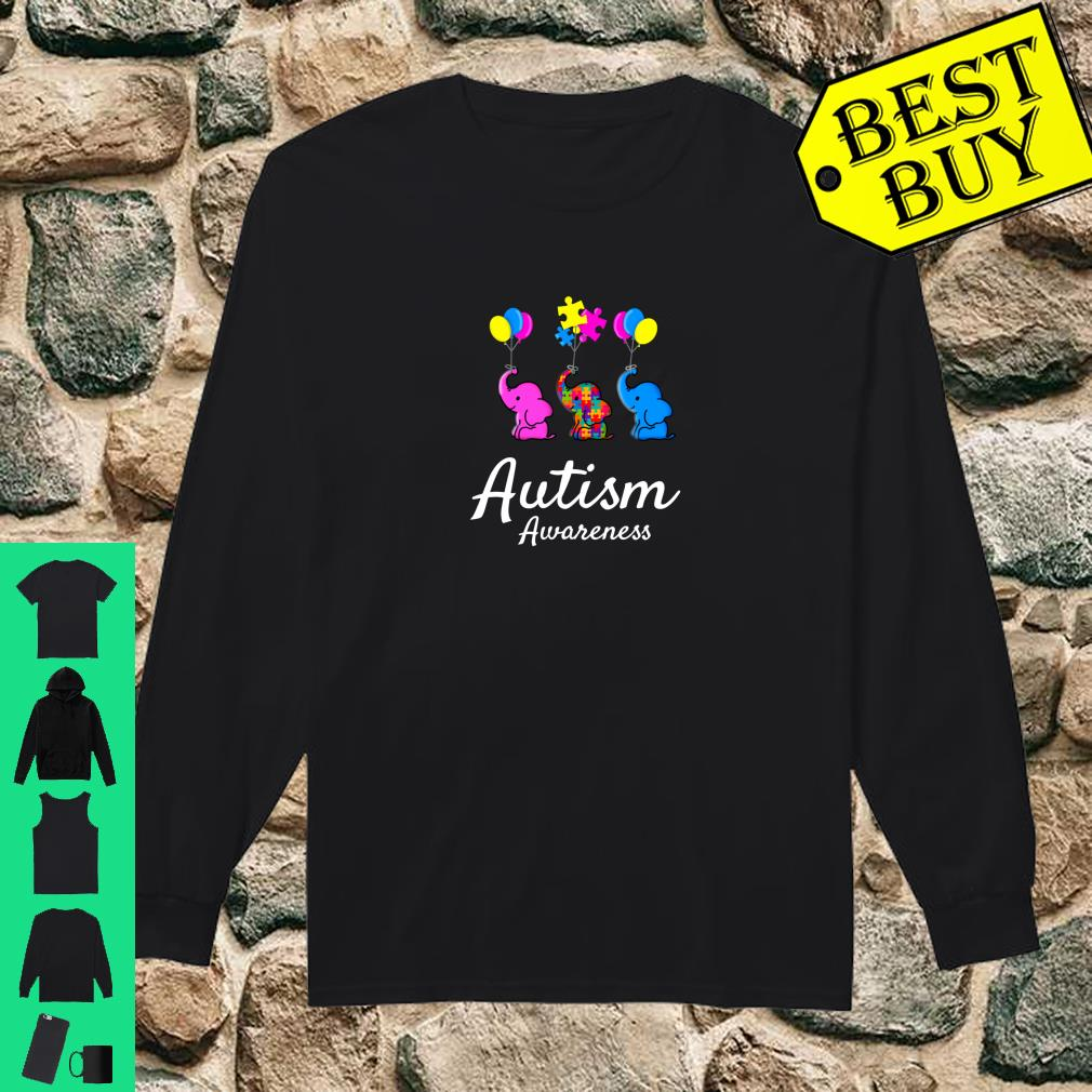 Autistic Mom Autism Awareness Month Love Puzzle Piece Shirt long sleeved