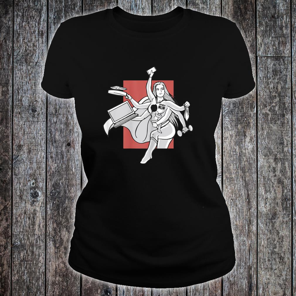 Awesome Spider mom, Multitasking mom for Mother's day Shirt ladies tee