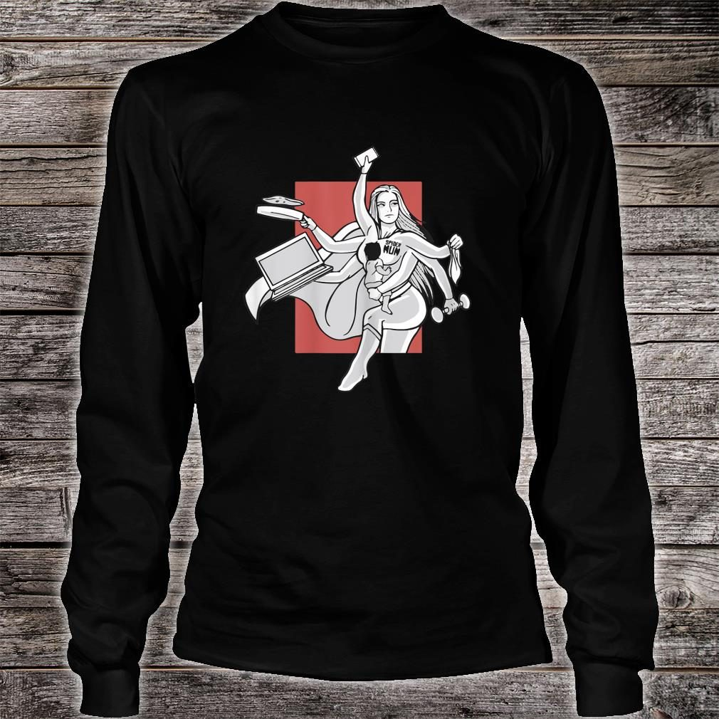 Awesome Spider mom, Multitasking mom for Mother's day Shirt long sleeved