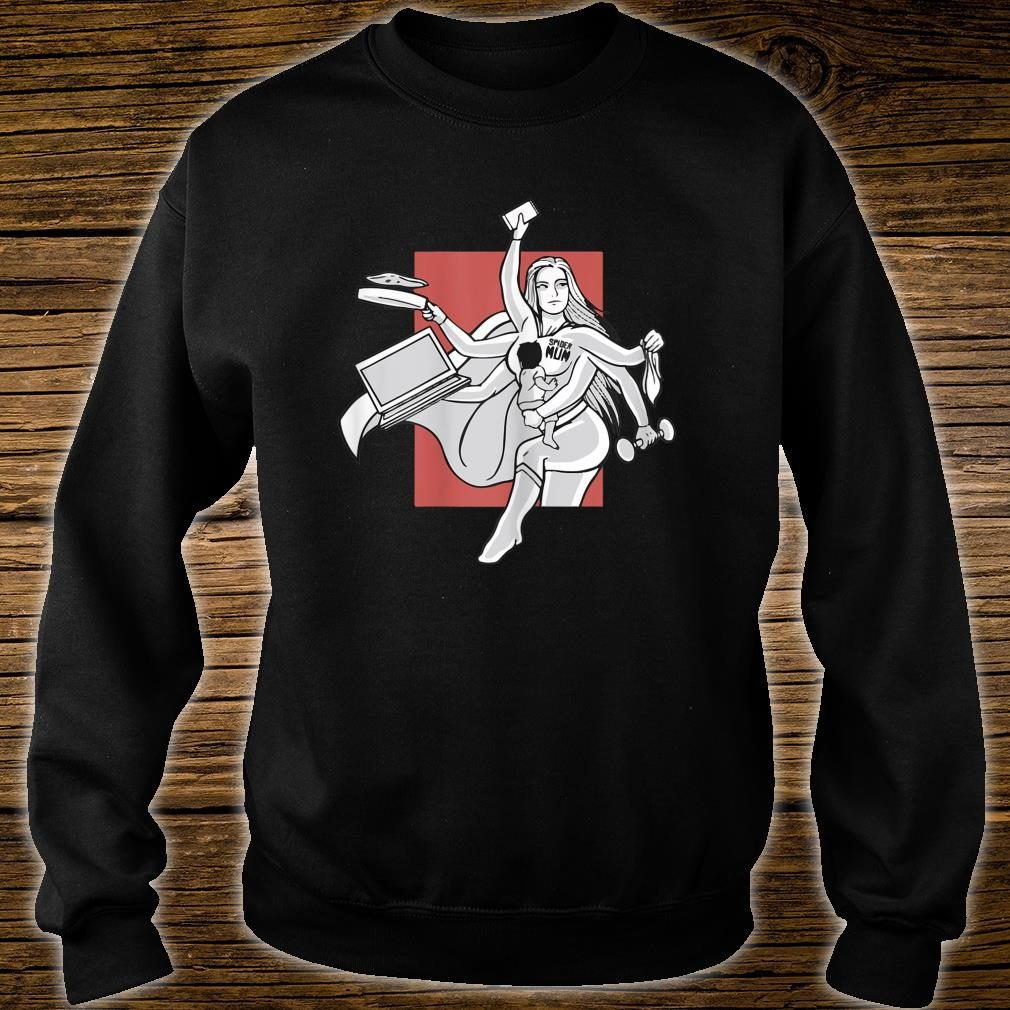 Awesome Spider mom, Multitasking mom for Mother's day Shirt sweater