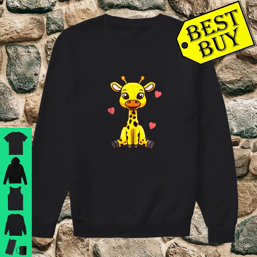 Baby Giraffe Zoo Animals Cute Shirt sweater