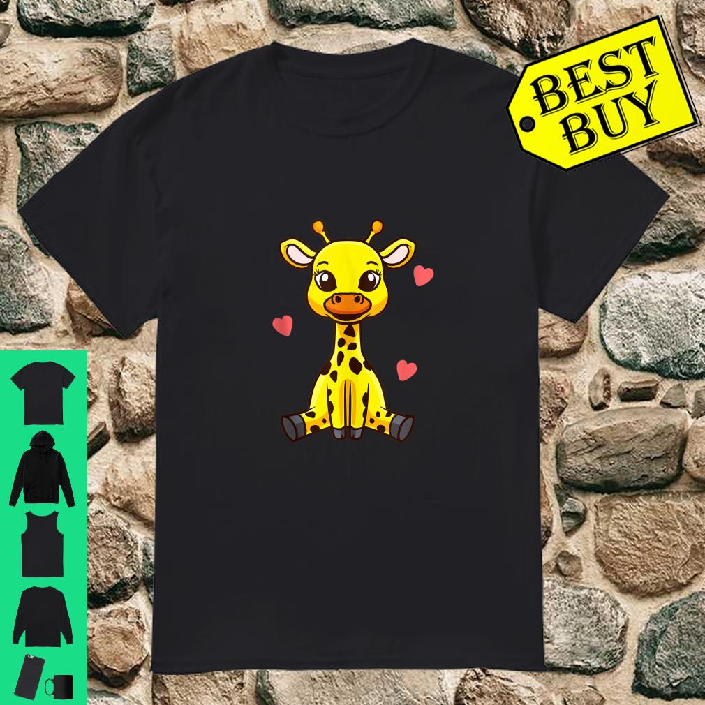 Baby Giraffe Zoo Animals Cute Shirt