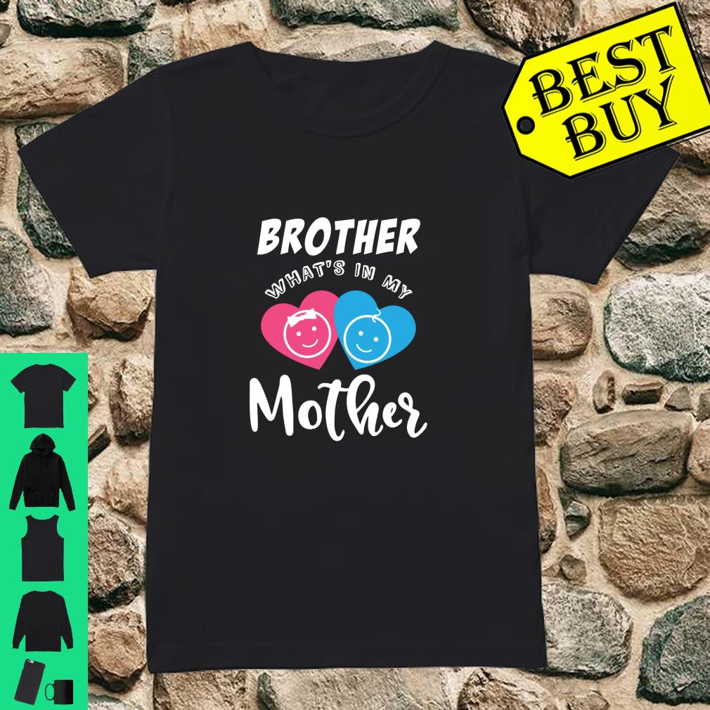 Baby Reveal In the Mother Party Shirt ladies tee