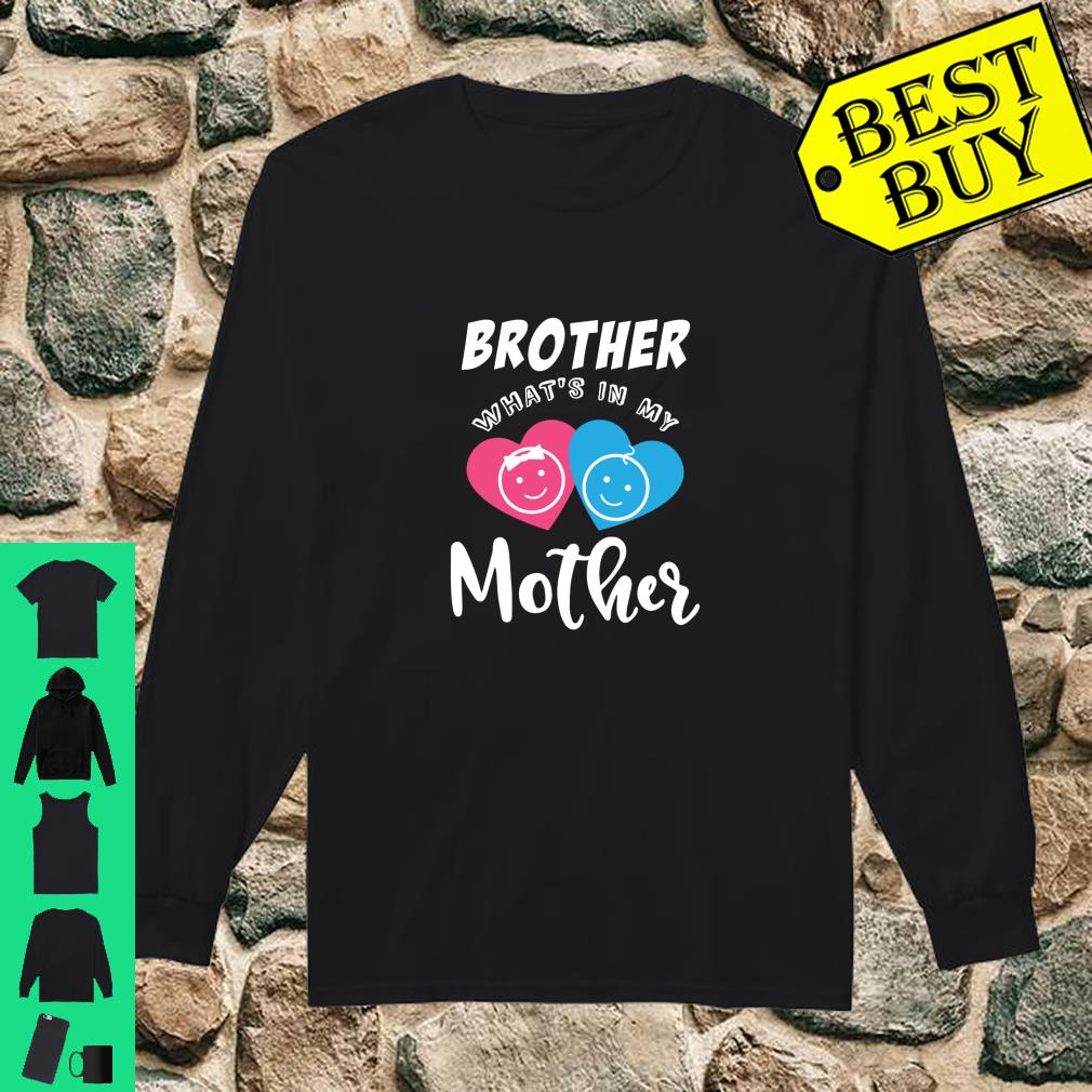 Baby Reveal In the Mother Party Shirt long sleeved