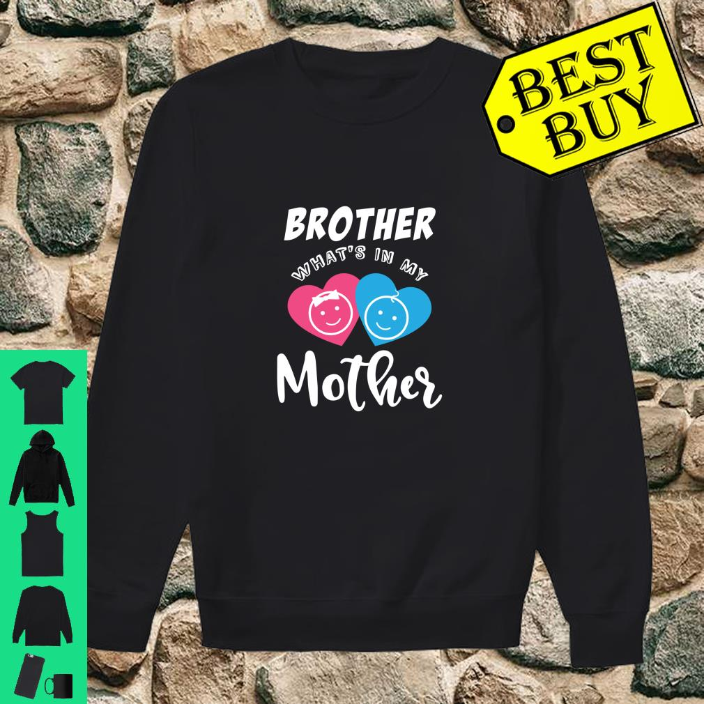 Baby Reveal In the Mother Party Shirt sweater