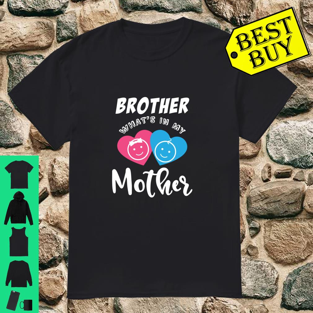 Baby Reveal In the Mother Party Shirt