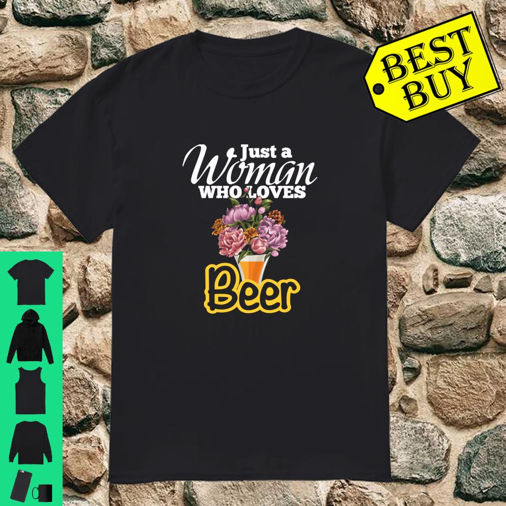 Beer Drinking Apparel for Woman Shirt