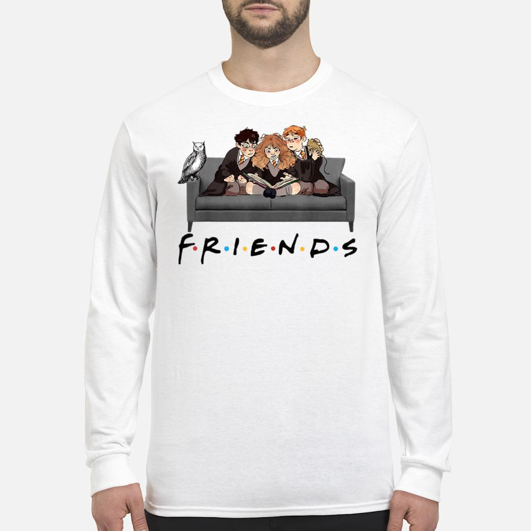Best Friends Harry Magical Wizard Potter Sofa Halloween shirt long sleeved