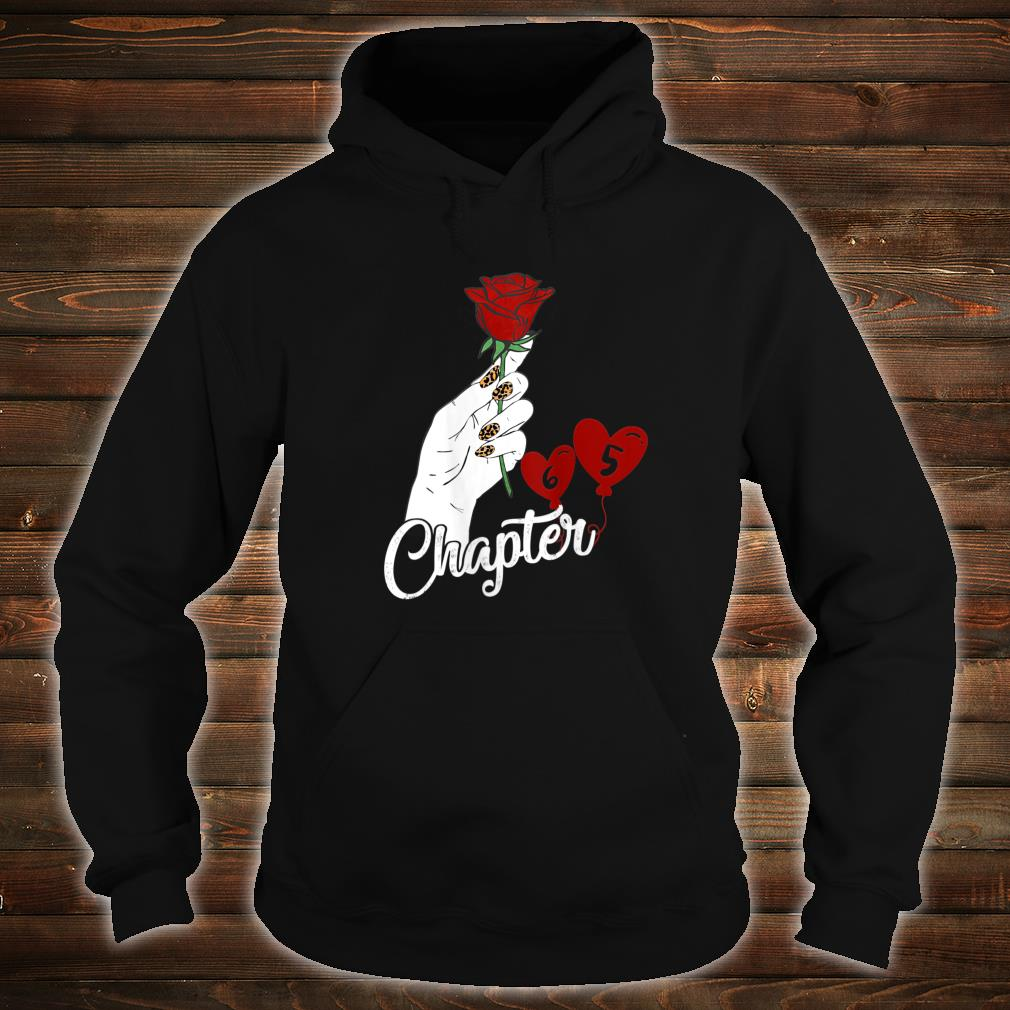 Chapter 65 Birthday Red Rose Hand Leopard Print nails Shirt hoodie