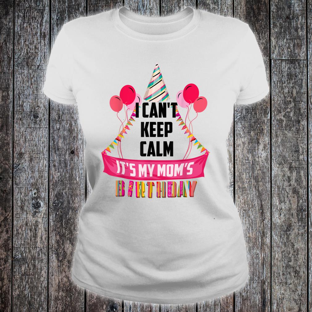 /'I Can/'t Keep Calm I/'m Going to be a Mummy/' Ladies Funny Birthday T-shirt Tee