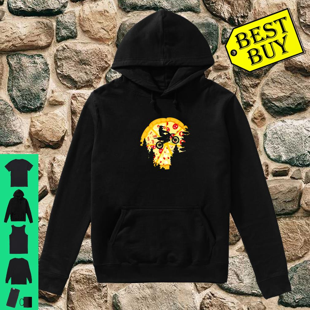 Dirt Bike Shirt For Motocross Riders Pizza Shirt hoodie