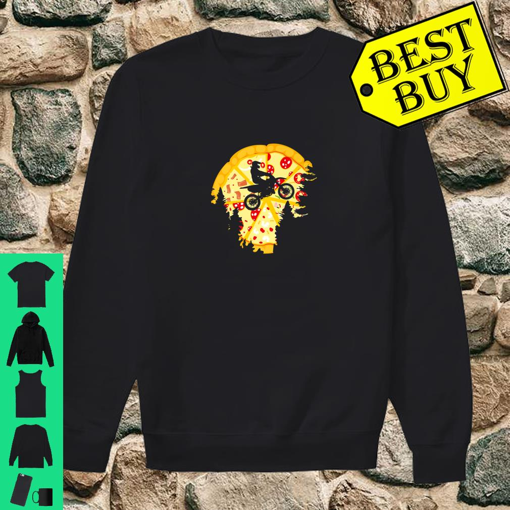 Dirt Bike Shirt For Motocross Riders Pizza Shirt sweater