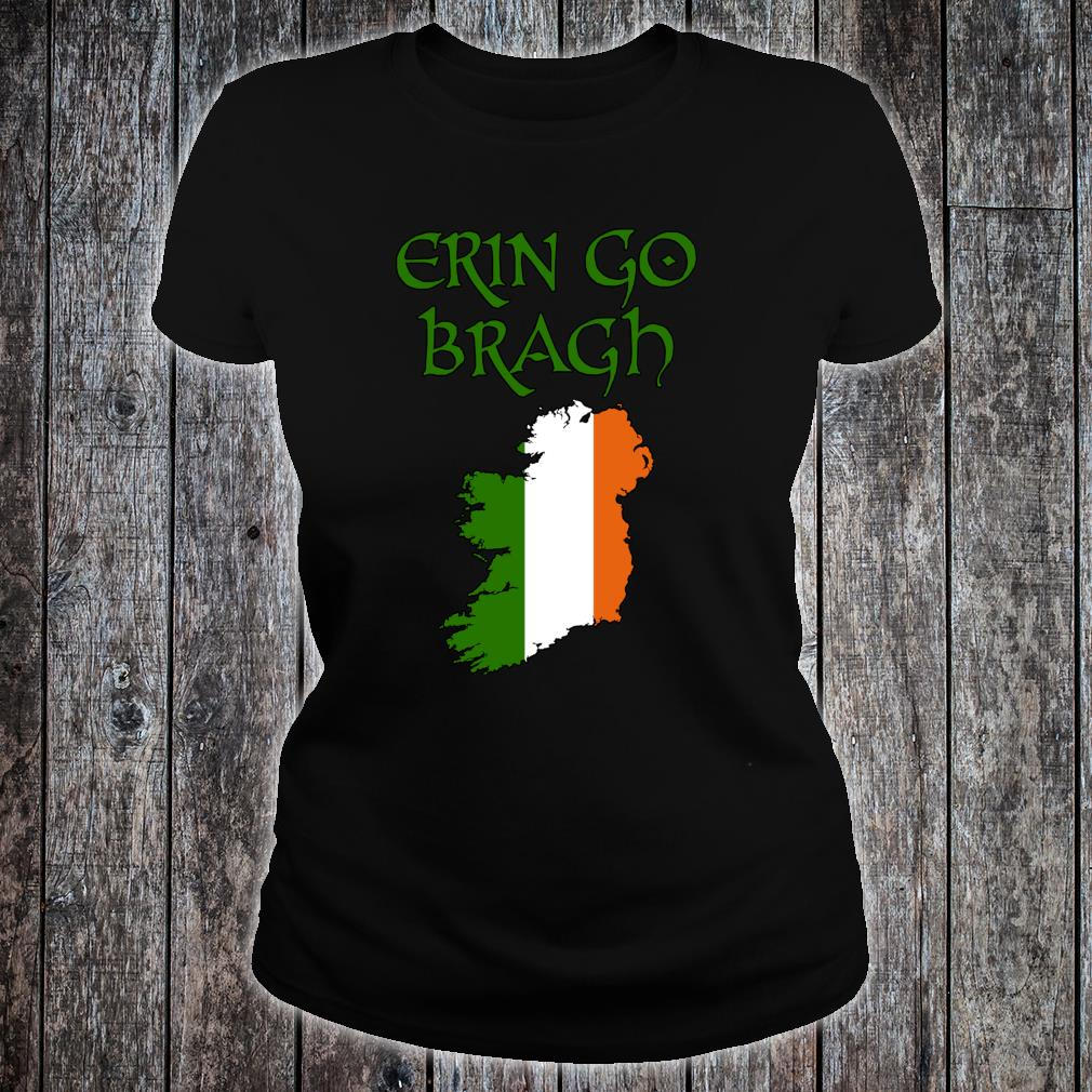 Erin Go Bragh Ireland Forever Irish irland irisch Keltisch Shirt ladies tee