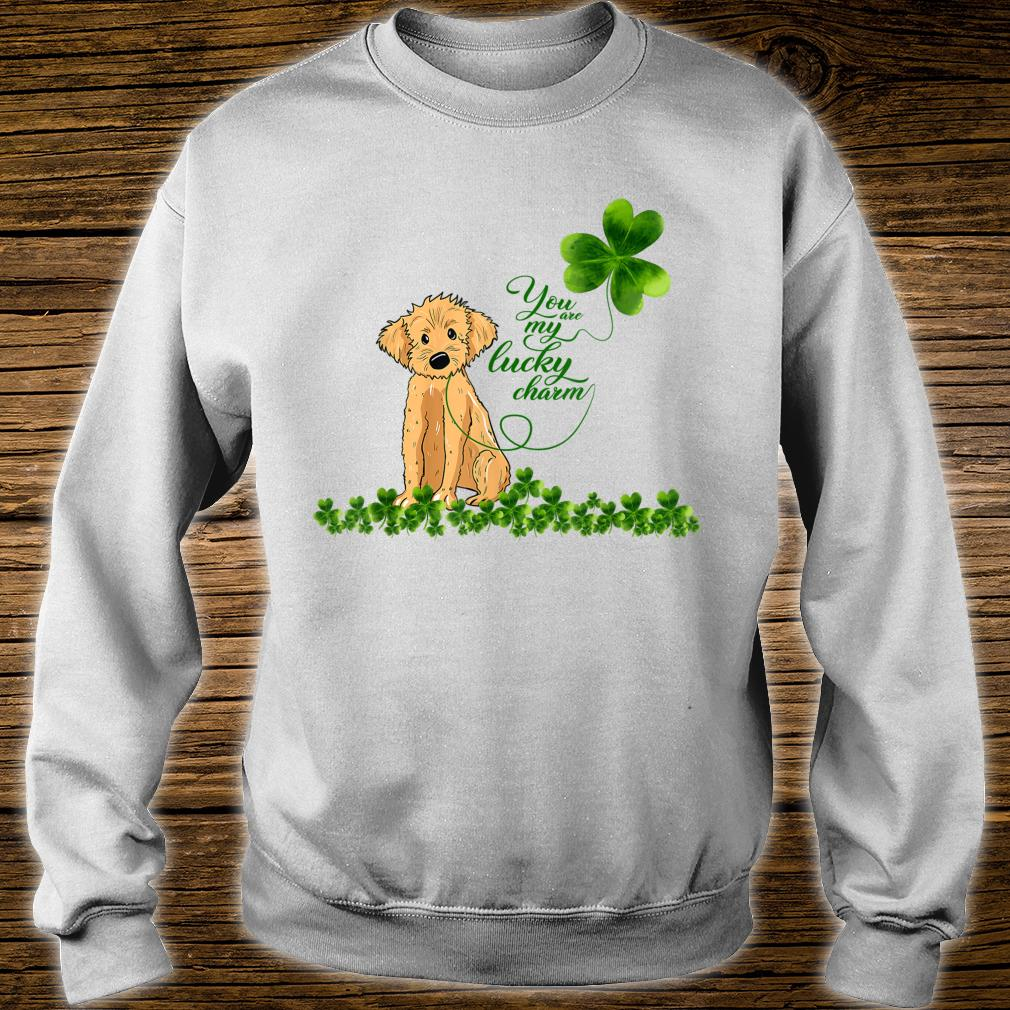 Golden Doodle Dog You Are My Lucky Charm Paddys Day Shirt sweater