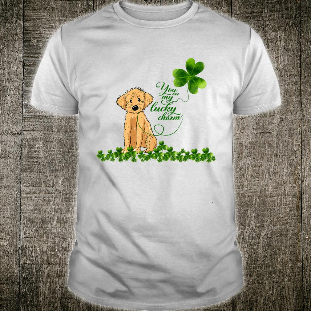 Golden Doodle Dog You Are My Lucky Charm Paddys Day Shirt
