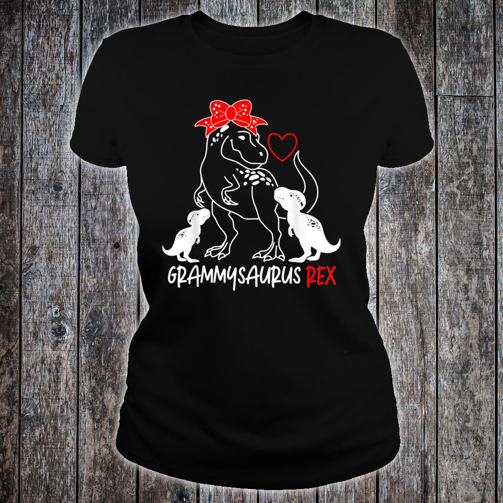 Grammysaurus Rex TRex For Mother's Day Shirt ladies tee