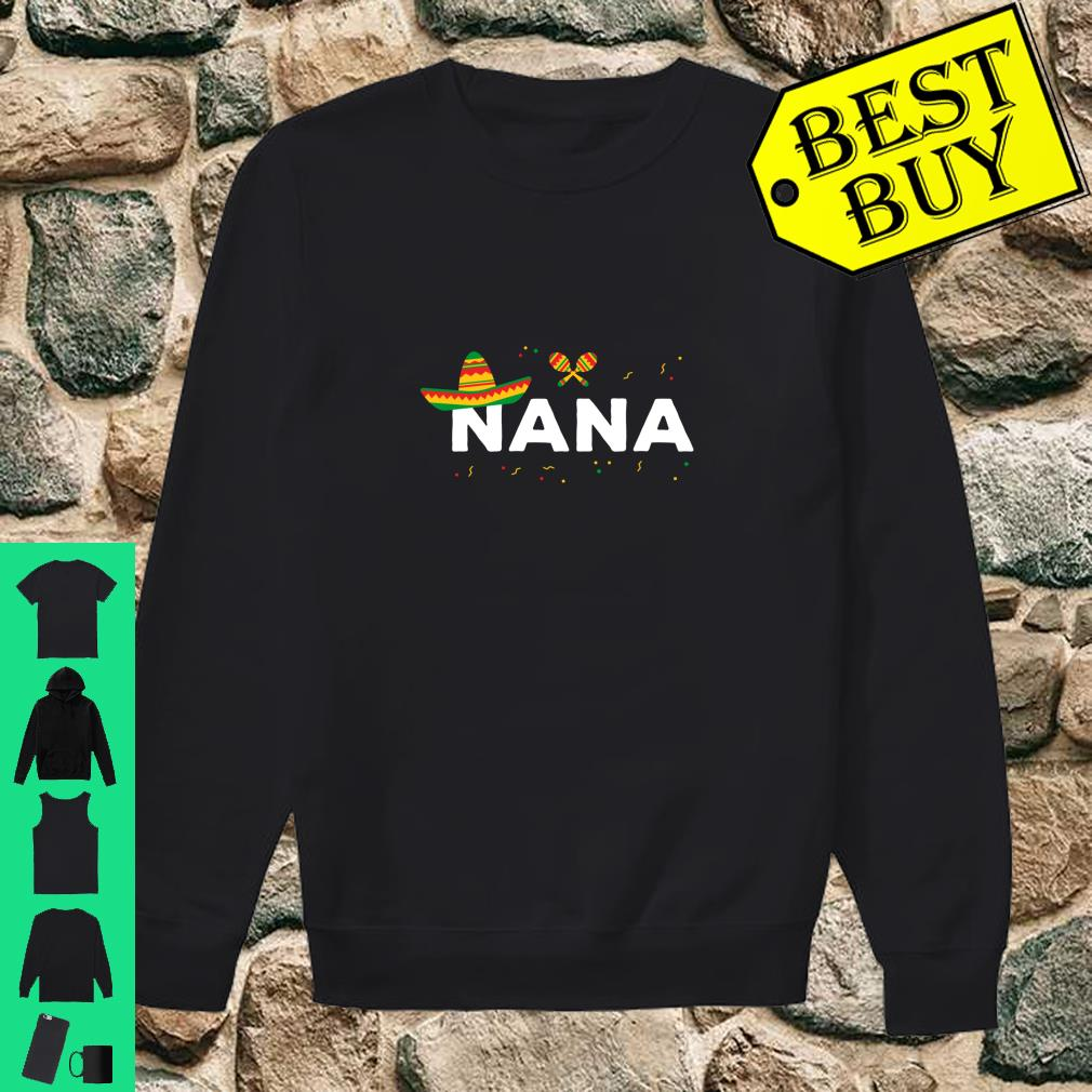 Grandmother Cinco De Mayo Design Shirt sweater