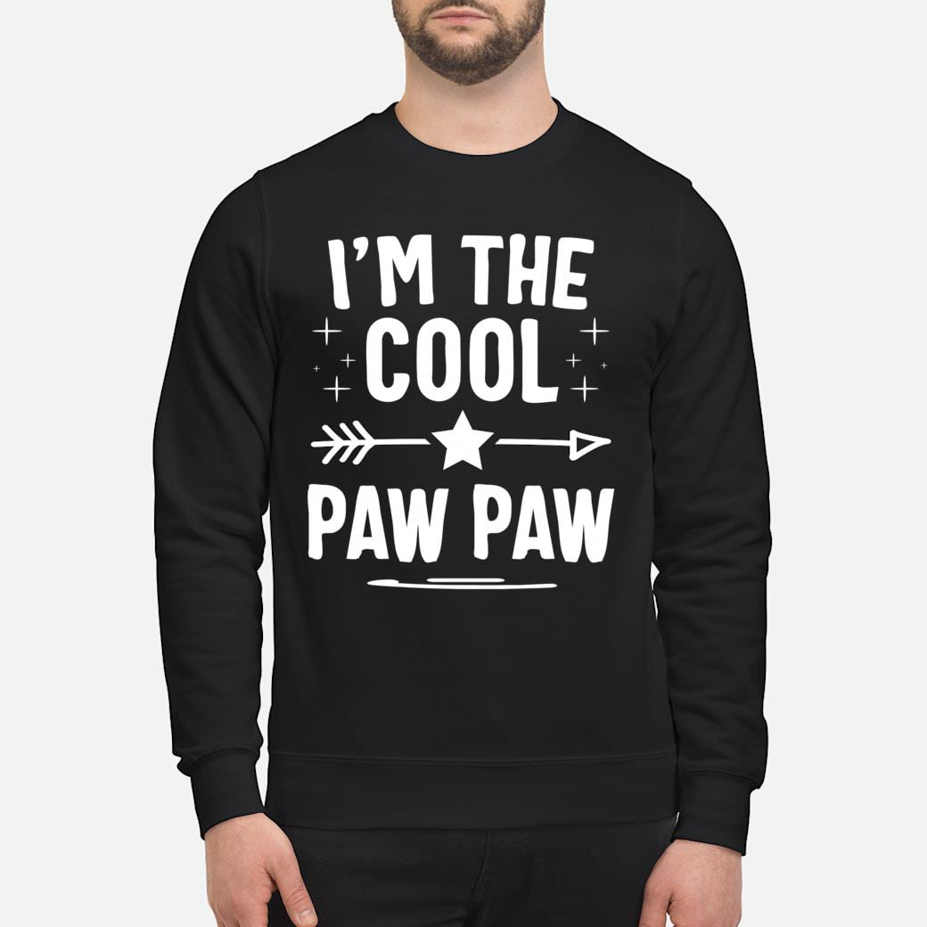 I'm The Cool Paw Paw Fathers Day Gifts shirt sweater