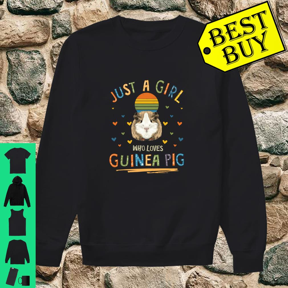 Just a Girl Who Loves Guinea Pig shirt sweater
