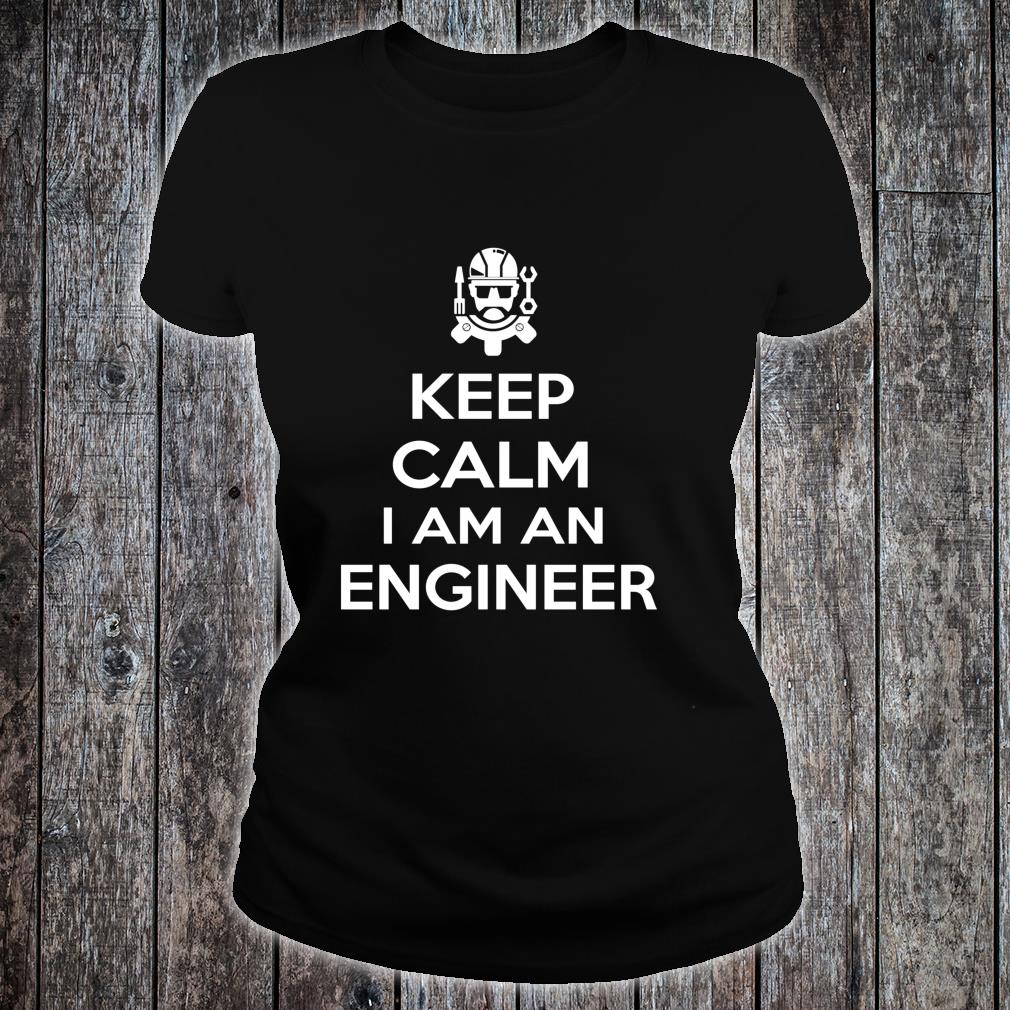 Keep Clam I Am Engineer Engineering Shirt ladies tee