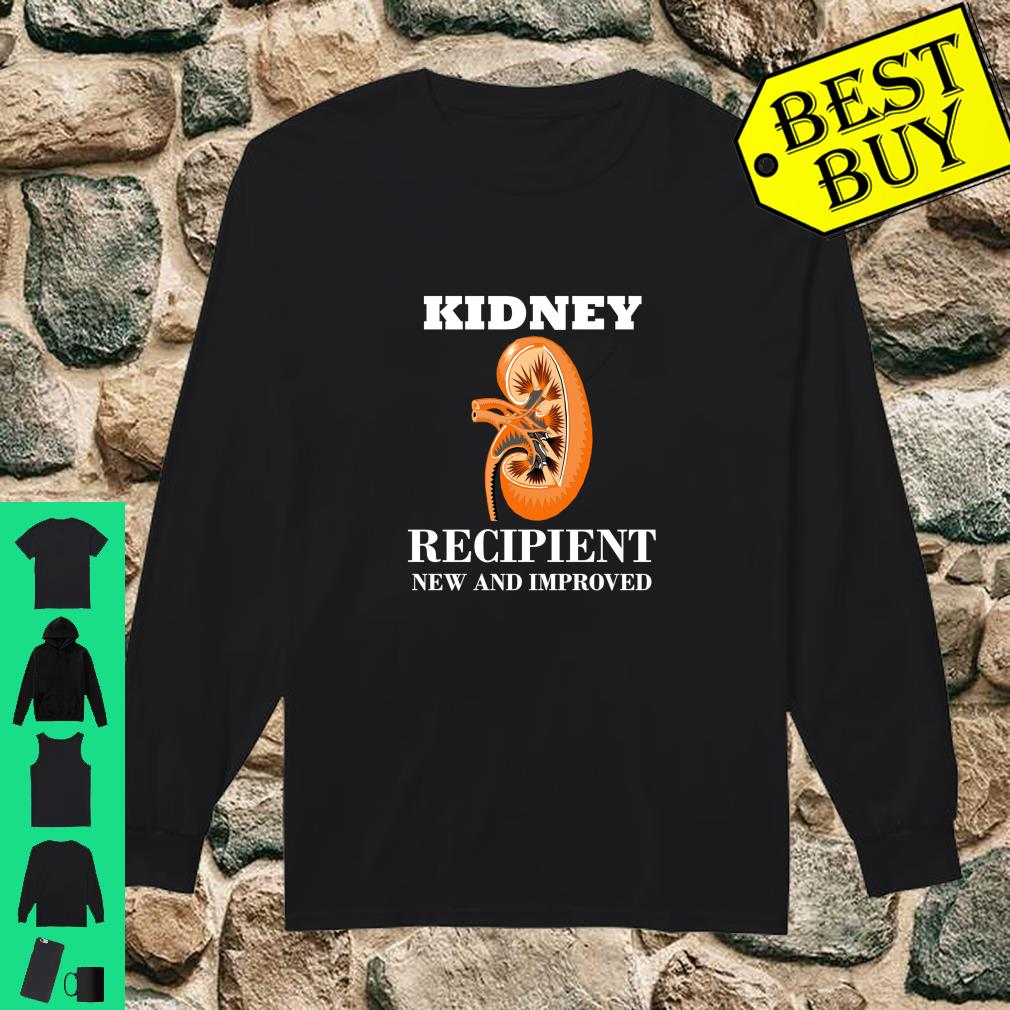 Kidney Transplant Gift Patient Kidney Recipient shirt long sleeved