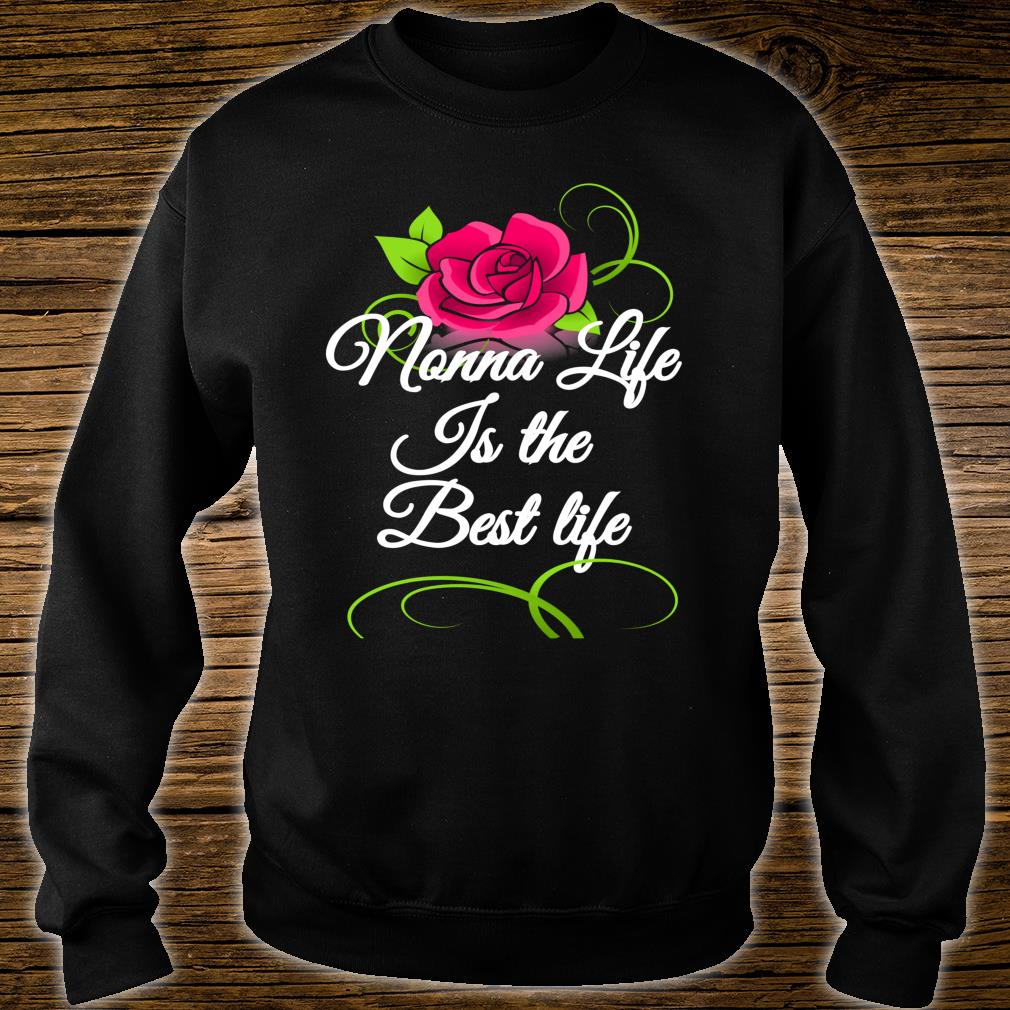 Mother's Day Special Flowers Best Nonna Ever Shirt sweater