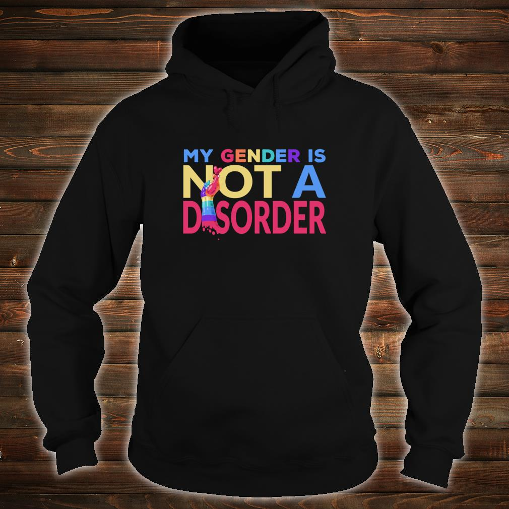 My Gender Is Not A Disorder Trans LGBTQI+ Rights Shirt hoodie