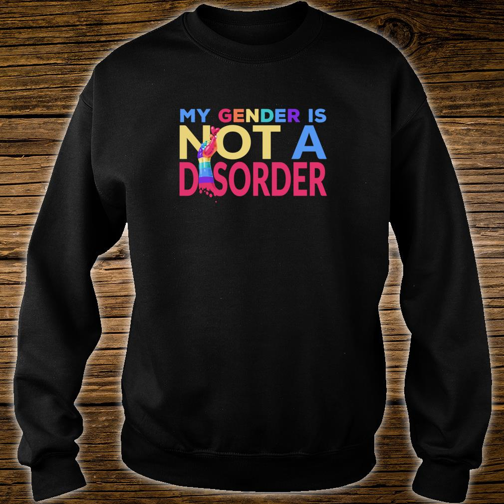 My Gender Is Not A Disorder Trans LGBTQI+ Rights Shirt sweater