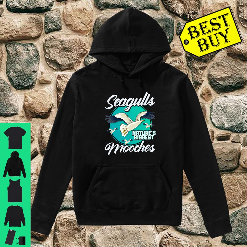 Nature's Mooches Seagulls Bird Beach Bird Gift shirt hoodie
