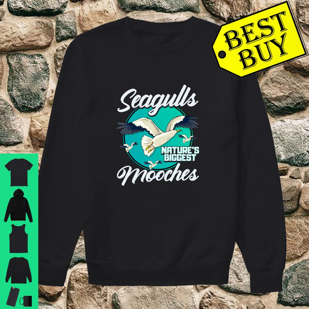 Nature's Mooches Seagulls Bird Beach Bird Gift shirt sweater