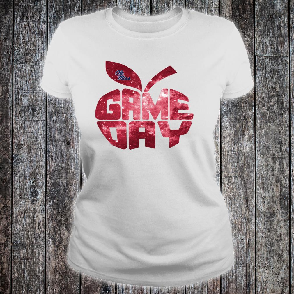 Ole Miss Rebels Game Day Inside Apple Galaxy Shirt ladies tee