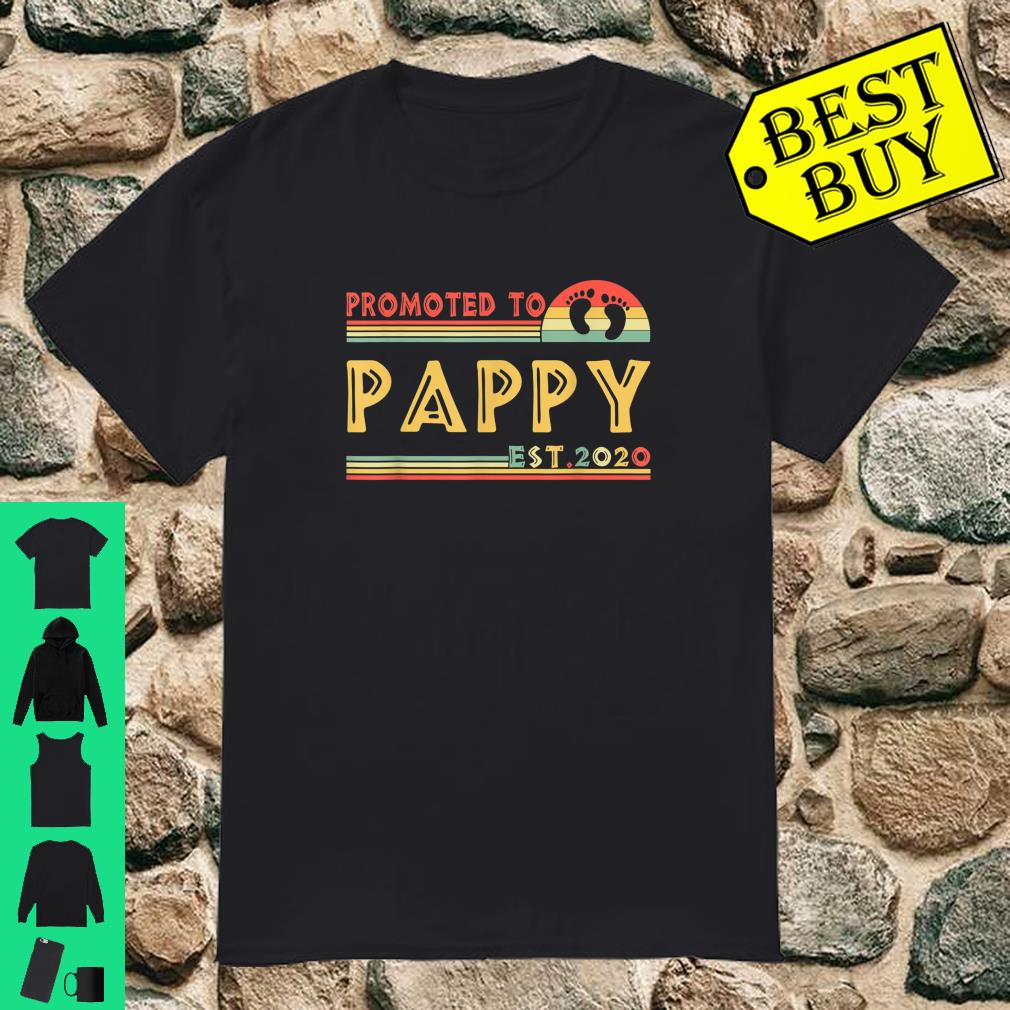 Best Fathers Day Gifts 2020.Official Promoted To Pappy Est 2020 Fathers Day Gifts