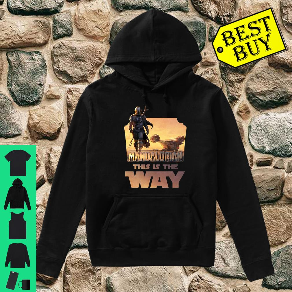 Star Wars The Mandalorian This Is The Way shirt hoodie