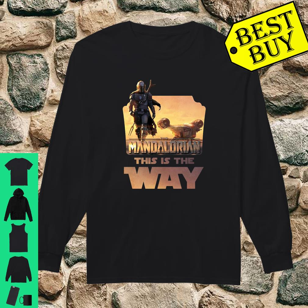 Star Wars The Mandalorian This Is The Way shirt long sleeved